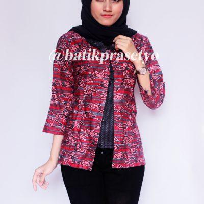 Blus Batik Wanita Motif Mega Mendung BFR 6 69cc017522