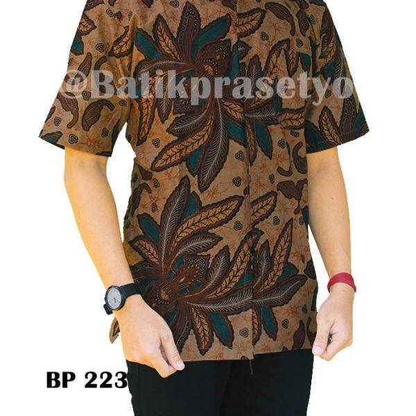 kemeja batik pria, batik printing