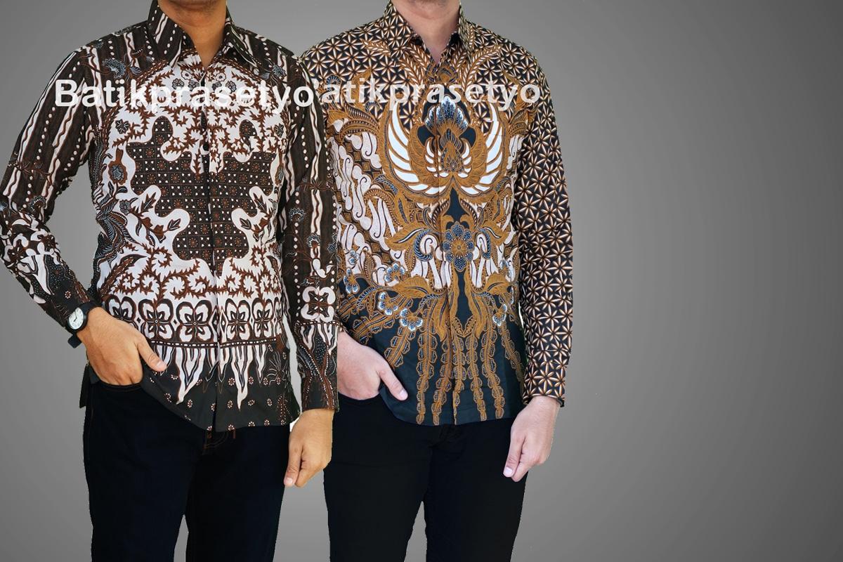30 Model Batik Pria Lengan Panjang