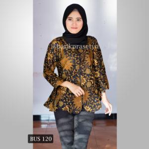 20 Model Baju Batik Wanita Terbaru