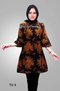Model Baju Muslim Batik Tren Terbaru 2019